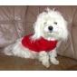 Коты / Собаки Свитера Красный / Зеленый / Синий / Коричневый / Розовый / серый Одежда для собак Зима / Весна/осень ОднотонныйКлассика /