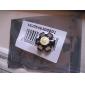 3200-3500k 3W 180-200LM Warm White LED Light Bulb (3.4-3.8V)With Aluminum Plate
