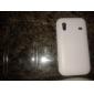 Mesh Design Hard Case for Samsung Galaxy Ace S5830 (White)