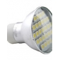 GU10 4 W 27 SMD 5050 220 LM 2700K K Warm wit MR16 Spotjes AC 220-240 V