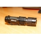 LED Flashlight FX SK68 1-Mode CREE XR-E Q5 (200LM, 1xAA/1x14500, Black)
