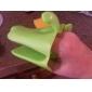 silicone en forme de chien isolé gant mitaine de four (couleur aléatoire)