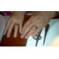 Titanium Gyldne striber Ring