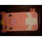 Case Estilo Porquinho para iPhone 4 e 4S (cores sortidas)
