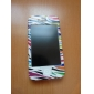 Protective Smooth Polycarbonate Front and Back Case for iPhone 4 and iPhone 4S (Colorful Stripes)