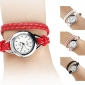 Women's PU Analog Quartz Bracelet Watch (Assorted Colors) Cool Watches Unique Watches
