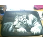 """Resting Tiger Neoprene Laptop Sleeve Case for 10-15"""" iPad MacBook Dell HP Acer Samsung"""