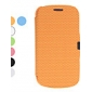 Fotball Grain Design PU Leather Case for Samsung Galaxy S3 Mini I8190 (Assorterte farger)