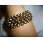 Retro Style Exaggerated Rivet Stretch Bracelet