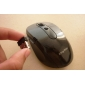 Wireless Optical Mouse + 2.4GHz USB Receiver (Black)