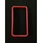 TPU Auto Frame Gehäuse mit Metall-Knöpfe für das iPhone 4 und 4S