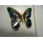 Glow-in-Dunkel-Schmetterling Aufkleber Home 3D Schmetterling Wand mit Stift&Magnet Vorhänge Kühlschrank Dekoration