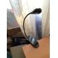 Светодиодная лампа для чтения на шибкой ножке с клипсой, 1w естественный белый свет