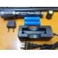 Светодиодные фонари / Ручные фонарики LED 1600 Люмен 5 Режим Cree XM-L T6 18650 Фокусировка Алюминиевый сплав