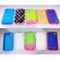 Soft Protective PVC Case for iPhone 4 / 4S (Assorted Colors)