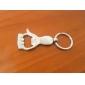 오프너가있는 금속은 손바닥 키 체인