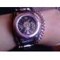 мужской панк-стиль череп рисунок черный PU Группа Кварцевые наручные часы (разные цвета)