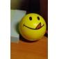 부드러운 플라스틱 소재 노란색으로 얼굴을 볼 스타일의 키 체인을 미소