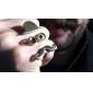 Z&X®  Moustache Face book Ring