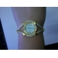 Women's Watch Diamante Case Elegant Alloy Bracelet