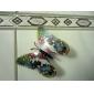 Glow-in-Dunkel-Schmetterling 6pcs Home 3D Schmetterling Wandaufkleber mit Stift&Magnet Vorhänge Kühlschrank Dekoration
