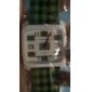 Orologio al quarzo con cinturino in lattice PU - Verde