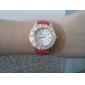여성의 캐주얼 스타일의 합금 아날로그 석영 손목 시계 (여러 색)