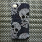 Cool Skull Style Protective Case for iPhone 4 and 4S (Gray)