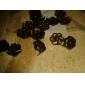 z&x® antigua flor cobrizo forma de garra remache (contiene 100 fotos)