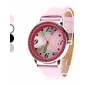 Women's Big Heart Shape PU Analog Quartz Wrist Watch (Assorted Colors) Cool Watches Unique Watches