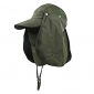 Outdoor Demountable Quick Dry Hat with 360º Protection