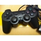 di controllo del rilievo di shock per PS2 (nero)