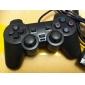 Dual Shock Control-Pad für PS2 (schwarz)