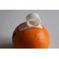 éplucheurs adroite de citron orange (une paire)