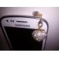 Противопылевая заглушка в виде сердца с кристаллами для iPad и iPhone (разные цвета)