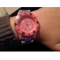 Unisex Plastic Quartz Wrist Watch analogique (multicolore)