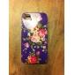 Etui Motif Fleur pour iPhone 4/4S - Assortiment de Couleurs