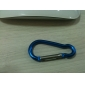 5mm Aluminum Carabiner (Random Color)