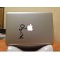 """no me empuje Apple Mac calcomanía etiqueta de la cubierta de piel de 11 """"13"""" 15 """"MacBook Pro de aire"""
