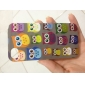Etui Rigide Motif Hiboux Mignons pour iPhone 4/4S