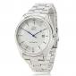 Men's Auto-Mechanical Dress Style Silver Steel Wrist Watch