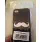 Flash Style Mustache Pattern Hard Case for iPhone 4/4S