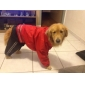 capa de chuva elegante com calça para cães (cores sortidas, s-xxl)