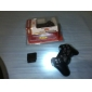 Controle Sem Fio Vibrante para PS3, PS2 e PC (2.4Ghz, Preto)
