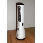 Rechargeable 1-Mode 11-LED Flashlight(1000LM, AC Charger, White)