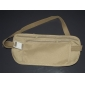 nylon bolso de la cintura antirrobo cerrado en condiciones de viajar