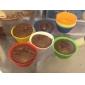 Красочные силиконовые формочки для выпечки