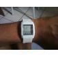 digital + analógico duplo-tempo do relógio de pulso com display mens semana - branco (2 * cr1120)