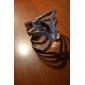 Bracelet lureme®silver en forme d'arc plaqué en alliage poli terne