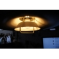 5W E26/E27 LED Globe Bulbs G60 66 SMD 3528 430 lm Warm White AC 220-240 V